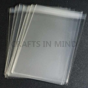 1000 c6 cello bags self seal for greeting cards m4hsunfo