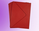 Crimson Red C6 Envelopes (114 x 162mm)