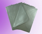 Silver Metallic C7 Envelopes (82 x 113mm)