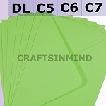 Bright Green C6 Envelopes (114 x 162mm)
