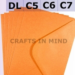 Orange C6 Envelopes (114 x 162mm)