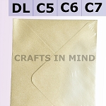 White Pearl C6 Envelopes (114 x 162mm)